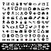 vector technology icon set for website